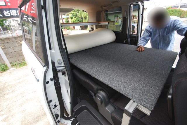 セレナC26・ベッドキット|車中泊